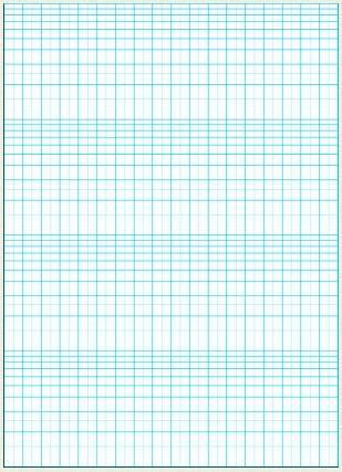 片対数グラフ
