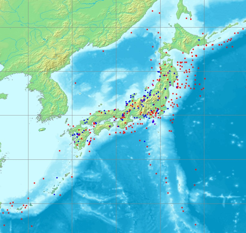 大地震マップ