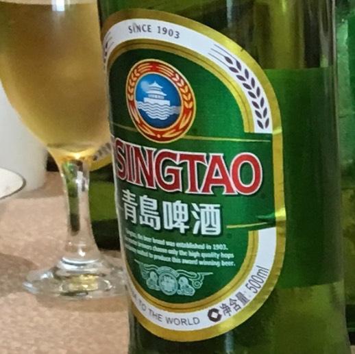 青島ビールラベル